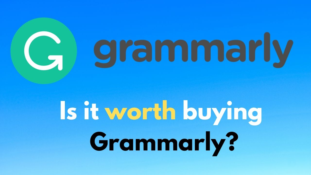Grammarly review 2020 Is it worth buying Grammarly_
