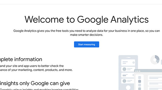Google Analytics Setup - 1