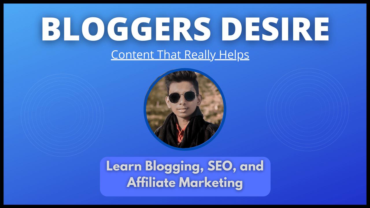 Bloggers Desire