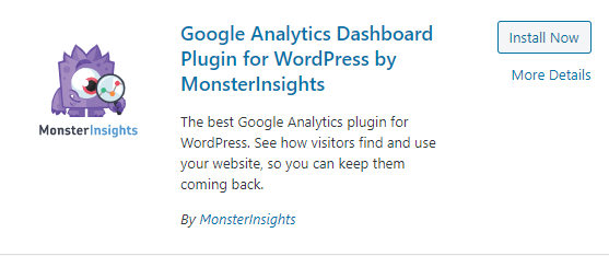 MonsterInsights plugin review