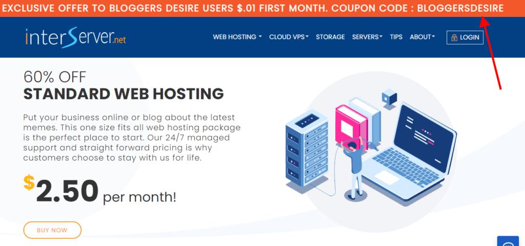 Interserver web hosting free trial