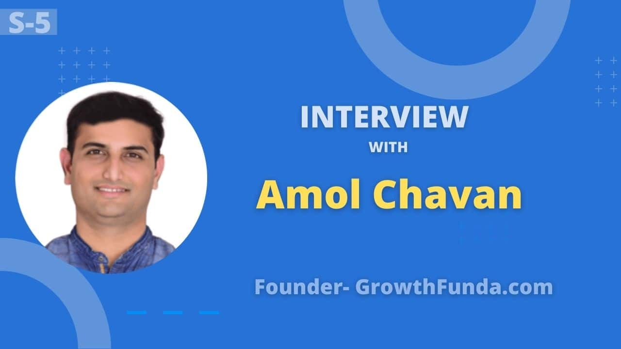 Interview with Amol Chavan