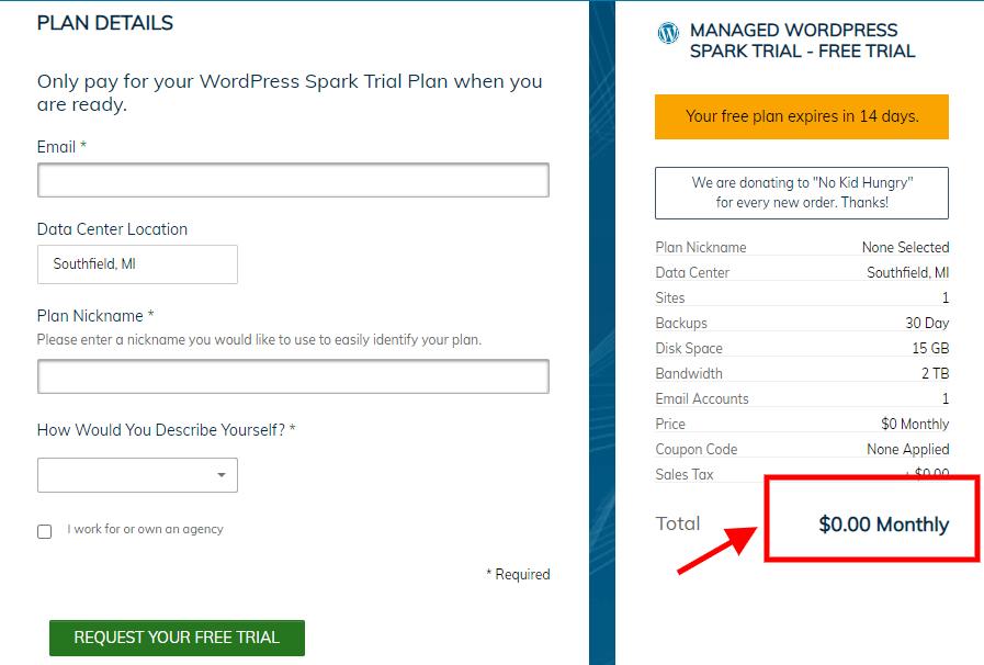 LiquidWeb free trial