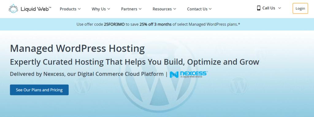 liquidweb managed wordpress hosting free trial