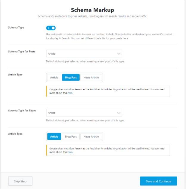 rank math schema markup advanced