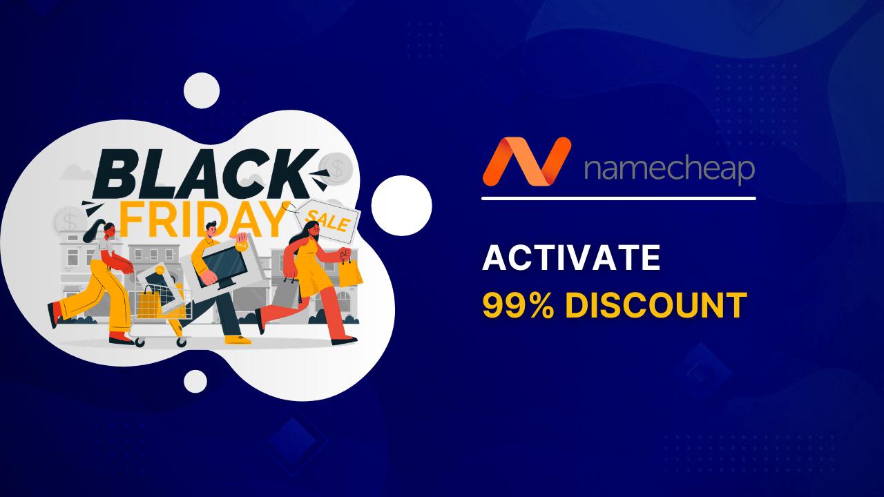Namecheap Black Friday Deals 2021