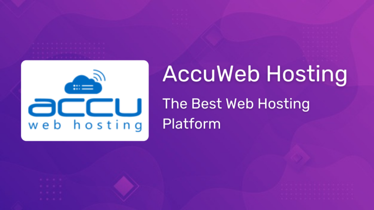 AccuWeb Hosting Review 2021: Features & Pricing
