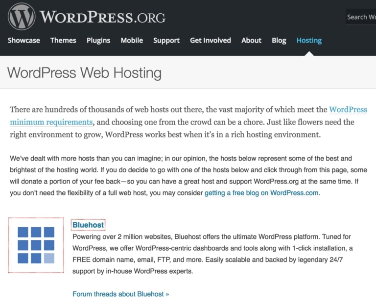 Bluehost-WordPress-Recommended